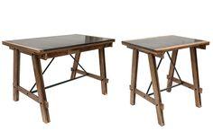 Fotos. Mesas robustas modelo Nature.