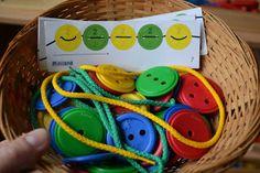 My Montessori Preschool: Re-setting our Montessori maths centre