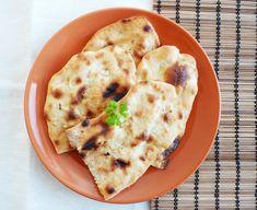 Indický chléb NAAN - Ochutnejte svět Naan, Asian Recipes, Ethnic Recipes, Recipe Images, Mashed Potatoes, Curry, Bread, Menu, Cooking