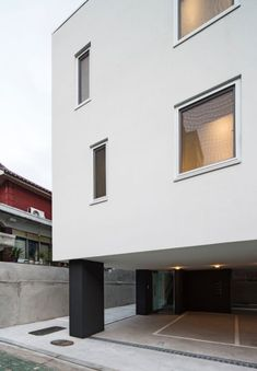 ArchiWorkshop · White Cube, Mangwoo · Divisare Contemporary Architecture, Cube, Garage Doors, Outdoor Decor, Projects, Home Decor, Log Projects, Blue Prints, Decoration Home