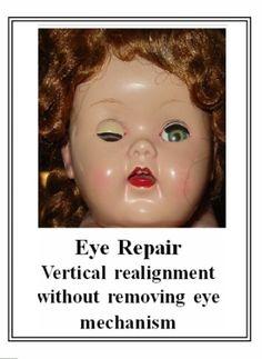 Medium color Composition Doll craze repair