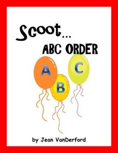Scoot  ABC Order . . . COMMON CORE Grades 2-3  Task Cards. ABC cards prepare students to use glossaries and beginning dictionaries. Alphabetizing skills are a must.  The words used on these ABC cards are words from basal readers and books commonly used in 2nd grade.