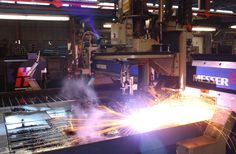I love watching steel manufacturing. It is interesting to see something so strong cut so simply by the application of heat and lasers. Technology today truly is amazing.