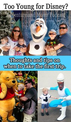 This podcast is awesome if you are planning to go to Disneyland with babies or toddlers! Is your kid too young for Disney? Great tips and a lot of thoughts on when to do the first trip.