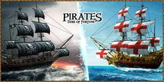 Ships wallpaper of Pirates Tides of Fortune.