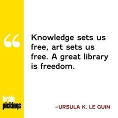 Today on Brain Pickings, Ursula K. Le Guin on the sacredness of public libraries: brainpickings.org