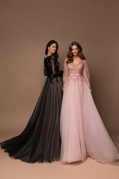 Romantic evening dress in boho style with long sleeves and skirt-train. In front the dress is decorated with deep V-cut. Sleeves and bodice are decorated with velvet ribbons. Dress Outfits, Fashion Dresses, Prom Dresses, Formal Dresses, Wedding Dresses, Modern Hijab Fashion, Boho Fashion, Fashion Show, Hijab Evening Dress