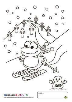 1000 images about thema winter kleurplaten voor kleuters