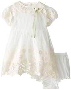 Laura Ashley London Baby-Girls Newborn Mesh Overlay Dress, Ivory, 3-6 Months Laura Ashley London http://www.amazon.com/dp/B00PCDHELI/ref=cm_sw_r_pi_dp_PNK6ub1JRPTN7