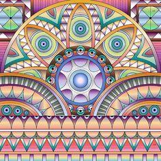 Border Pattern, Islamic Art Calligraphy, Symbols, Patterns, Drawings, Cross Stitch Pictures, Mandalas, Dots, Block Prints