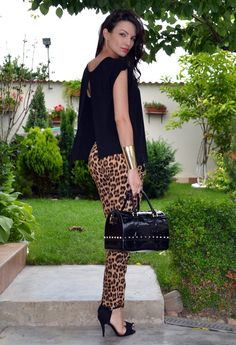 32 Street Style Look With Leopard Print Details - Fashion Diva Design