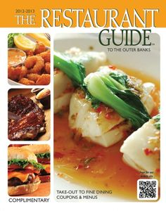 Restaurant Guide to the Outer Banks - Helping you find the best Outer Banks restaurants for 20 years! Besides the printed magazine, check out the desktop and mobile websites. Download the FREE OBX Restaurants app from the Apple App store or Google play. Coupons, too!   outerbanksguides.com, 252-261-6490,  111 E. Baltic Street, Nags Head, NC