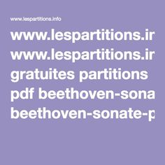 Beethoveen Sonate Pathétique 2nd mouvement