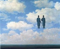 The infinite recognition  - Rene Magritte #Paintings #Art