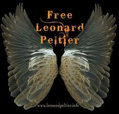 Free Leonard Peltier ..