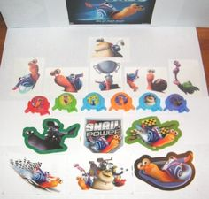 Dreamworks Turbo The Snail Toys Deluxe Party Favors Set of 18 with Mini Launchers, Jumbo Stickers and Fun Tattoos! by Turbo, http://www.amazon.com/dp/B00DC80ICM/ref=cm_sw_r_pi_dp_tRj5rb0N1JV51