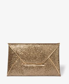 Glittered Envelope Clutch | FOREVER21 - 1025101065