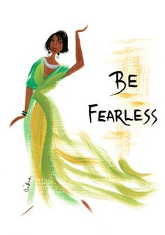Be Fearless: Cidne Wallace Magnet