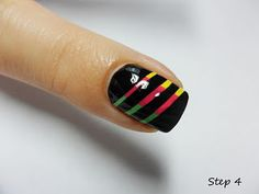 Ray of light- paint base coat- stripes or solid- tape stripes, paint over coat- remove tape