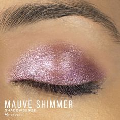 Mauve Shimmer ShadowSense by SeneGence is a Limited Edition eyeshadow part of the Posh Pastels Collection.  Get the perfect soft mauve shadow for your eyes with a shimmer finish.  #mauve #eyeshadow #senegence