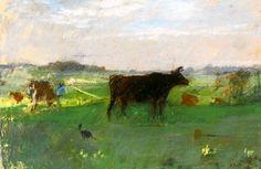 Berthe Morisot VACHES EN NORMANDIE