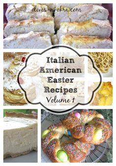 Italian American Easter Recipes Volume 1
