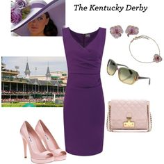 Kentucky Derby, created by kalliopaki on Polyvore