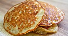 Very berry oatmeal pancakes Oatmeal Pancakes, Oat Muffins, Nutrition, Sin Gluten, Food Items, Smoothie Recipes, Food And Drink, Healthy Eating, Tasty