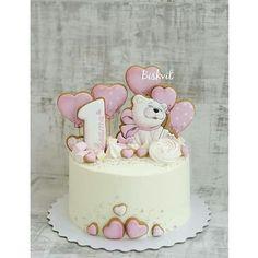 Baby Shower Kuchen, Baby Shower Cupcake Cake, Girl Shower Cake, Baby Shower Desserts, Baby Shower Cookies, Shower Cakes, Cake Baby, Shower Baby, Kid Cupcakes