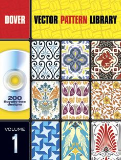 Vector Pattern Library- Dover is one of my main resources for line art.