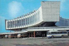 Russia, Leningrad, Leningrad Bus station #Brutalist #architecture