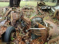 1939 Chevy Business Coupe Abandoned