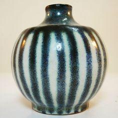 Studio Keramik Vase  - gemarkt - sehr guter Zustand