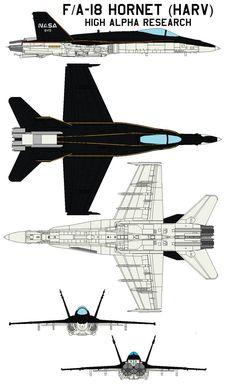 FA-18 HARV by bagera3005 on DeviantArt