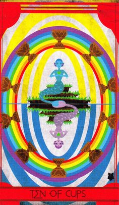 Image result for 10 of cups tarot