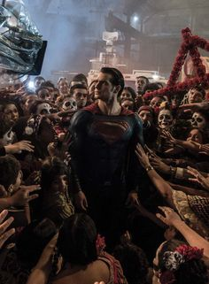I seriously cannot get enough of the imagery of Clark setting down the life he saved and being engulfed by death only to then rise out of it. (Of course, I only love it because I'm waiting not-so-patiently for the rising part of it!)
