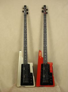 Gibson 20/20 basses, designed by Ned Steinberger. This was both ahead of and entirely of its time.
