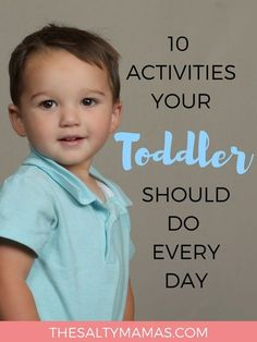 Looking for a toddler daily schedule that will help your child THRIVE (without a ton of prep?) Get your copy now, from thesaltymamas.com.