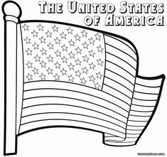 usa flag coloring pages usa independence day coloring