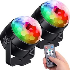 Sound Activated Party Lights with Remote Control Dj Lighting, RBG Disco Ball Light, Strobe Lamp 7 Modes Stage Par Light for Home Room Dance Parties Bar Karaoke Xmas Wedding Show Club Led Stage Lights, Disco Lights, Party Lights, Glow In Dark Party, Disco Party Decorations, Bad Room Ideas, Orchard Toys, Karaoke Party, 90s Party