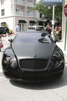 Gorgeous blacked out Bentley~