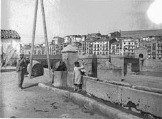 Anys 1900. Lleida, Pont Vell.