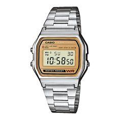 Casio A158WEA-9EF Collection retro horloge