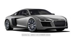 Photoshop wizard renders new second-generation 2016 Audi R8 supercar ahead of its debut next year.