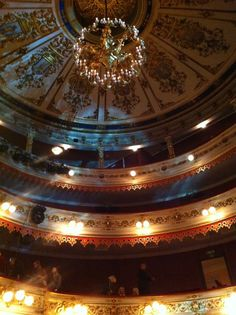 Ceiling of Royal Opera Copenhagen