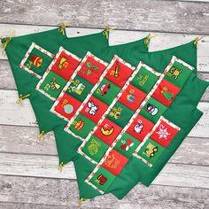 Adventní kalendář stromeček zelený / Zboží prodejce Štěpánka Cajthamlová | Fler.cz Advent Calendar, Holiday Decor