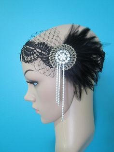 Hey, I found this really awesome Etsy listing at http://www.etsy.com/listing/112920204/black-feather-1920s-inspired-art-deco