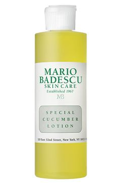 Mario Badescu 15.00 Special Cucumber Lotion Clarify and disinfect after cleansing with Mario Badescu's refreshing, deep-cleaning astringent effective for drying up existing acne blemis...