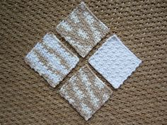 Scrubbies Facial Pads or Make-up Removers All Cotton by TooCozy