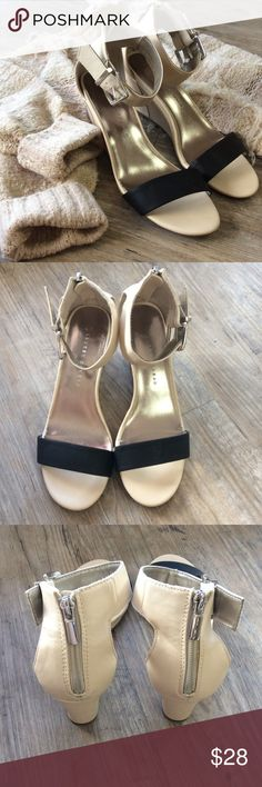 LAUREN CONRAD Sandal Heels Perfect for sweaters and jeans! or could class them up with a dress Lauren Conrad Shoes